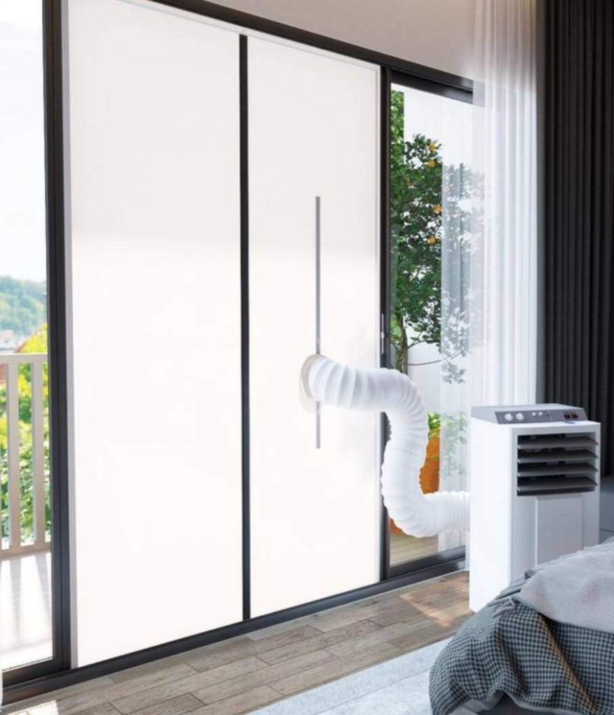 Mobiele airco deurafdichting