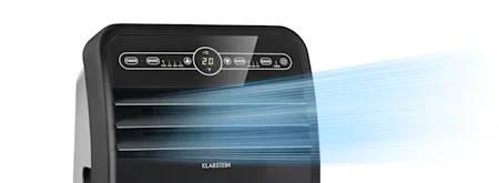 Koelvermogen mobiele airco